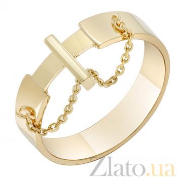 Кольцо Кинематика в желтом золоте 000032653