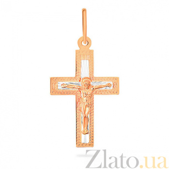 Золотой крестик Христос Господь SUF--521901р