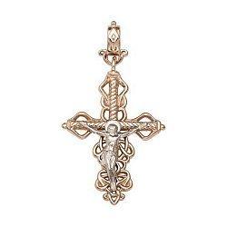 Золотой крестик Восхождение Духа 000046426