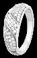 Кольцо из серебра с фианитами Батильда 000025742