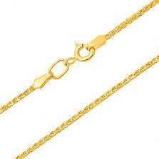 Золотая цепочка в евро цвете Карина