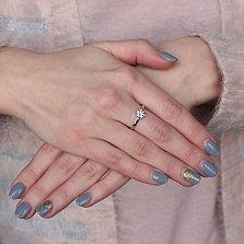 Золотое кольцо с бриллиантами Тамила