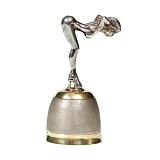 Серебряная рюмка Обнаженная девушка