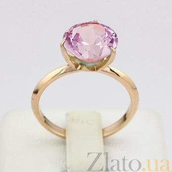 Золотое кольцо с аметистом Азиза VLN--112-1589-4