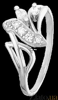 Кольцо из серебра с цирконием Неонила 000025771