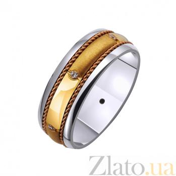 Золотое обручальное кольцо Бетти TRF--4221063