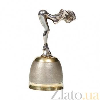 Серебряная рюмка Обнаженная девушка 359