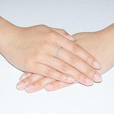 Золотое кольцо с бриллиантами Даниэла