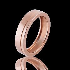 Золотое обручальное кольцо Hearts (мужское)