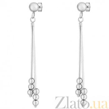 Серебряные серьги Дождь SLX--8815Р