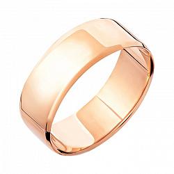 Золотое обручальное кольцо Гармония