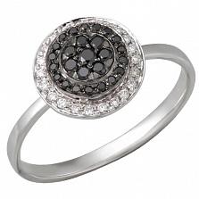 Золотое кольцо Орнамент с бриллиантами