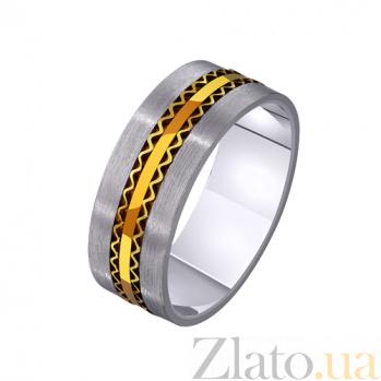 Золотое обручальное кольцо Бесценный дар TRF--4411378