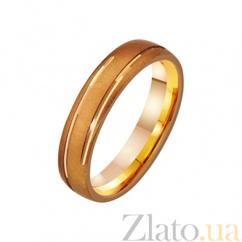 Золотое обручальное кольцо Юлий Цезарь TRF--411316