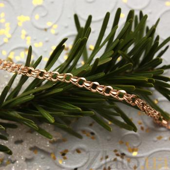 Золотой браслет Деннис, 3,5мм 000061639