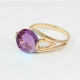 Золотое кольцо с александритом Надира