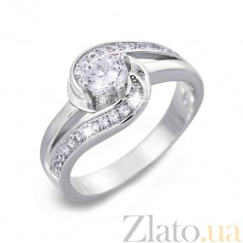 Серебряное кольцо  AQA--SK-SA040R