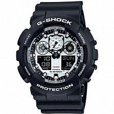Часы наручные Casio G-shock GA-100BW-1AER
