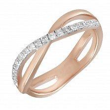 Кольцо из красного золота Нонна с бриллиантами