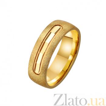 Золотое обручальное кольцо История нашей любви TRF--431230