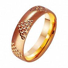 Золотое обручальное кольцо Идеальный выбор