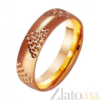 Золотое обручальное кольцо Идеальный выбор TRF--411305