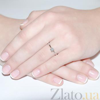 Золотое кольцо с бриллиантом Лючетта SVA--R80285/Бриллиант