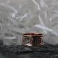 Золотое обручальное кольцо Любовный сонет TRF--4411344