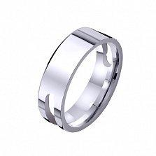 Золотое обручальное кольцо Жако