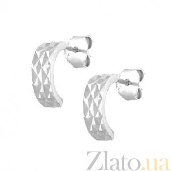 Сережки из серебра Дикси SLX--С2/375