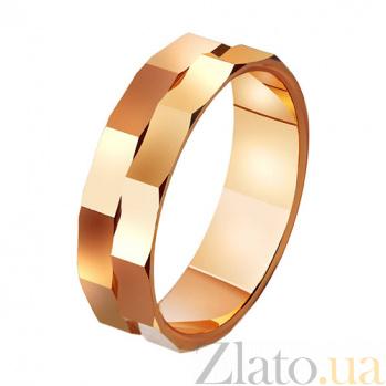 Золотое обручальное кольцо Дар любви TRF--411443