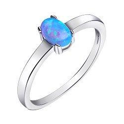Серебряное кольцо с опалом 000139625