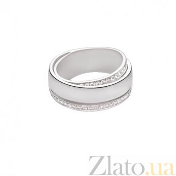 Золотое обручальное кольцо Счастливый союз 1К036-0201