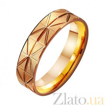 Золотое обручальное кольцо Искры любви TRF--411184