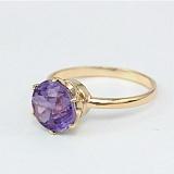 Золотое кольцо с александритом Корнелиа