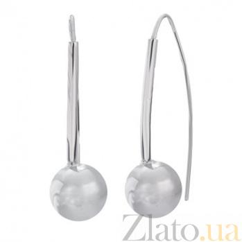 Серебряные серьги Сфера SLX--С2/235