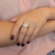 Серебряное кольцо Кристел с фианитами