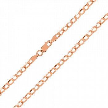 Срібний ланцюжок Аріан з позолотою 000035096