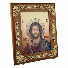 Серебряная венчальная икона Господь Вседержитель