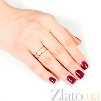 Золотое обручальное кольцо Осенние чувства 000001643