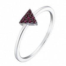 Золотое кольцо Тирон с рубинами