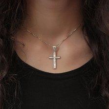 Серебряный крестик Интуиция