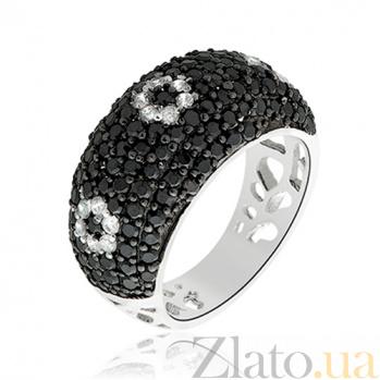 Серебряное кольцо с цирконием Анабель 10000024
