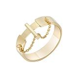 Кольцо Кинематика в желтом золоте