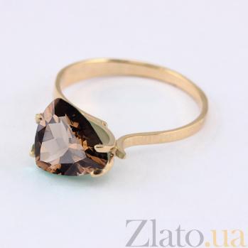Кольцо из красного золота с раухтопазом Сандра VLN--112-472-2