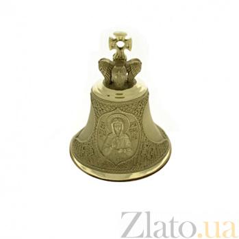 Бронзовый именной колокольчик Св. Светлана К9411