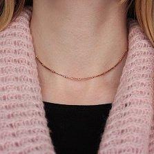 Золотая цепочка Шантар в фантазийном плетении, 1,5мм