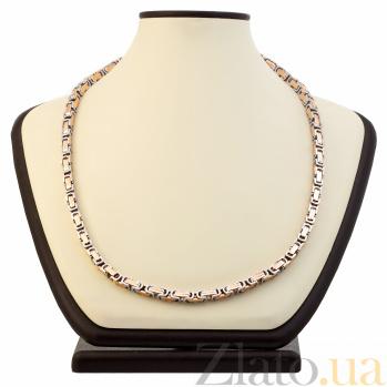 Объемная цепь Baraka Милан из комбинированного золота 000033385