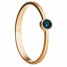 Золотое кольцо Сидней с австралийским опалом