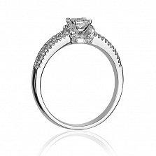 Золотое кольцо Беатрисса с бриллиантами